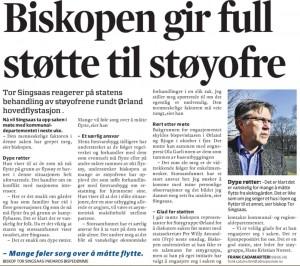 Biskop Singsaas